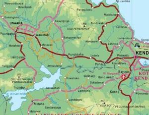 Peta Rawa Aopa-Kendari