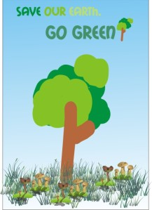 Selamat hari bumi 2012 (poster by Wirawan)