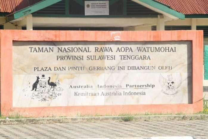 Kerjasama pembangunan plaza Balai TNRAW dengan Australia