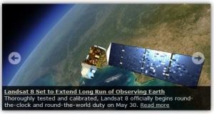 Landsat 8 (Sumber gbr : http://www.usgs.gov)