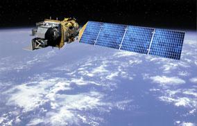 Satelit Landsat 8 (sumber gbr : http://www.usgs.gov)