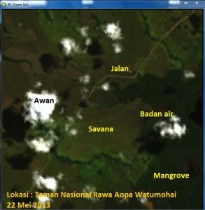 Landsat 8 dengan ENVI