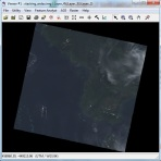 Menggabungkan Band Landsat 8 dengan ERDAS Imagine - output natural color