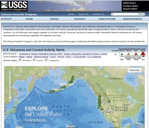 Pengurangan layanan USGS atas informasi bencana gunung berapi