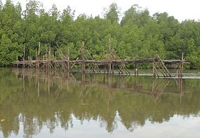 Togo, salah satu lokasi memancing favorit di Muara Lanowulu.
