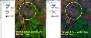 Menajamkan Citra Landsat 8 10