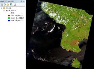 Menajamkan Citra Landsat 8 11