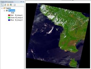 Menajamkan Citra Landsat 8 3