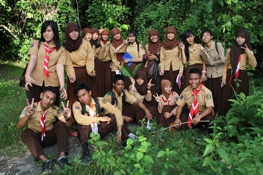 Latihan Saka Wanabakti Cabang Konsel (Sugiarto, 2014)