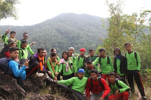 Siswa Pecinta Alam (Sispala) SMAN 12 Konsel (Firman, 2014)